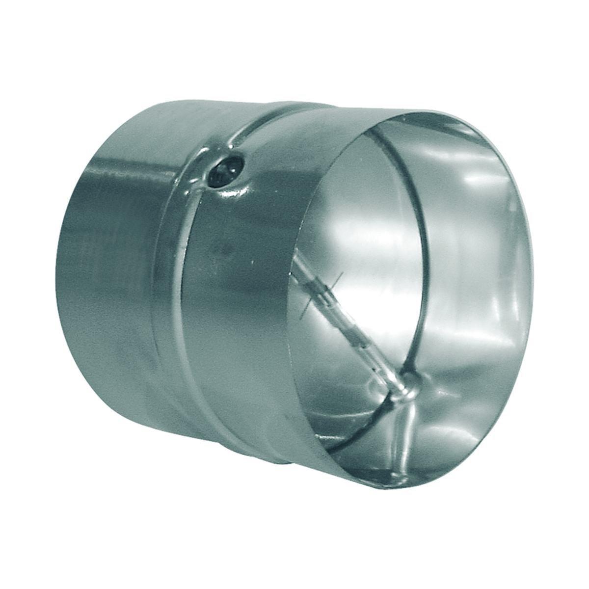 Vindstop / spjæld i metal til Ø100 mm. rør