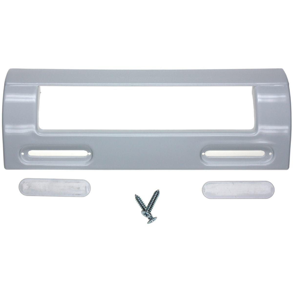 Dørgreb 200 x 75 mm. universal hvid flad