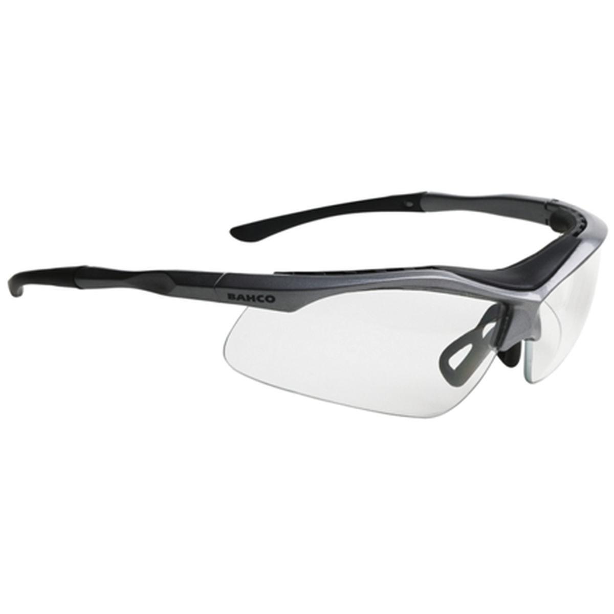 Sikkerhedsbrille grå/klar